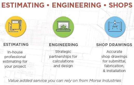 Estimating, Engineering & Shop Drawings