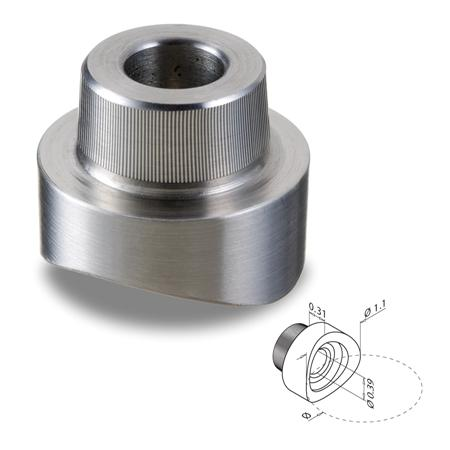 Model 0724 Concave Adapter For Spider Clamp