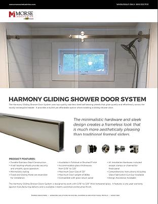 Harmony Gliding Shower System