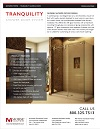 Tranquility Gliding Shower Door System