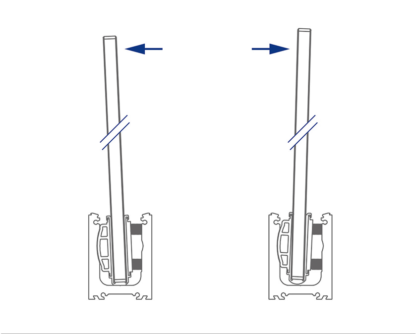 Adjustable Right or Left of Center