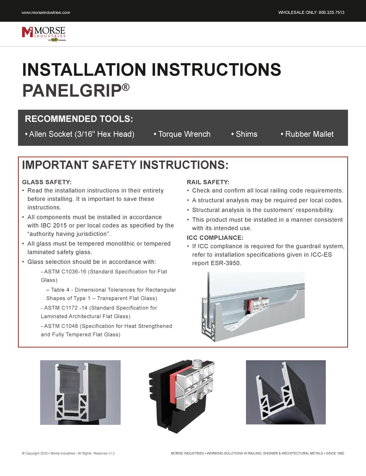 PanelGrip® Installation Guide