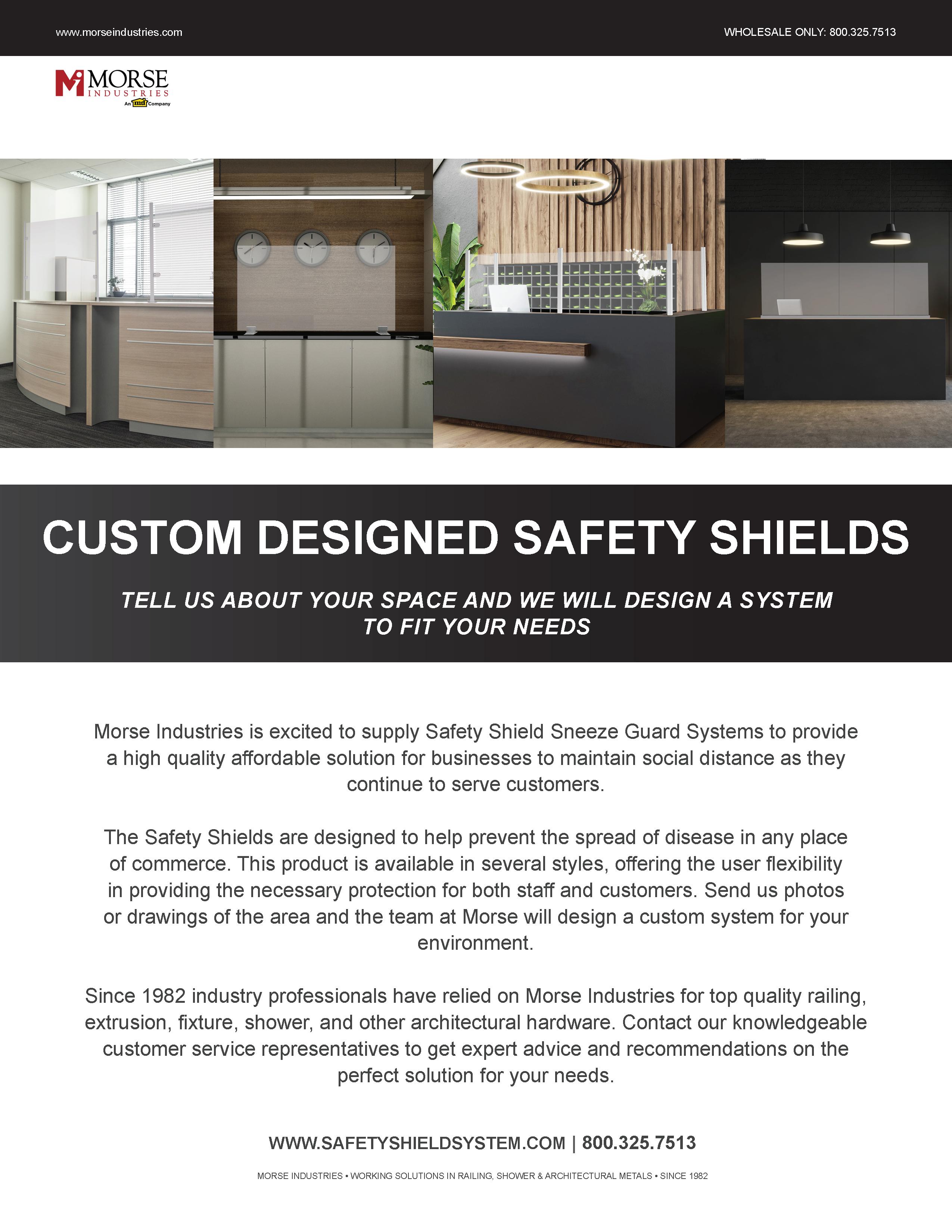 Safety Shield Design Guide