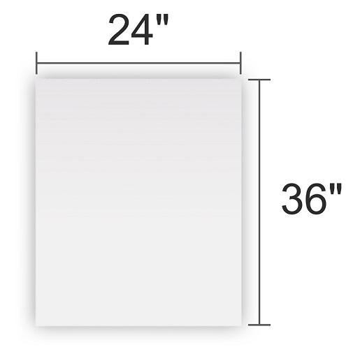 Clear Acrylic 24x36